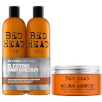 TIGI Bed Head Coloured Hair Shampoo, Conditioner and Hair Mask Set