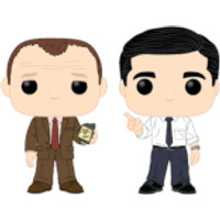 The Office Toby vs. Michael 2 Pack Pop! Vinyl Figure - Office Gifts