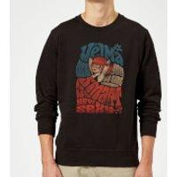 Scooby Doo Smart Is The New Sexy Sweatshirt - Black - S - Black