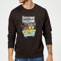 Scooby Doo Mystery Machine Heavy Metal Sweatshirt - Black - L - Black