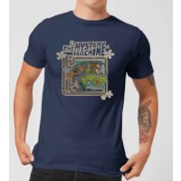 Scooby Doo Mystery Machine Psychedelic Mens T-Shirt - Navy - M - Navy