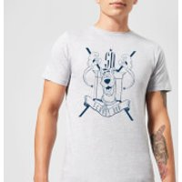 Scooby Doo Coat Of Arms Mens T-Shirt - Grey - 5XL - Grey