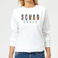 Scooby Doo Squad Goals Women's Sweatshirt - White - 3XL - White