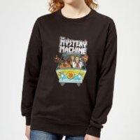 Scooby Doo Mystery Machine Heavy Metal Women's Sweatshirt - Black - 5XL - Black - Heavy Metal Gifts