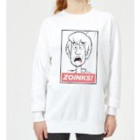 Scooby Doo Zoinks! Women's Sweatshirt - White - XL - White