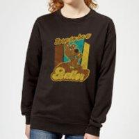 Scooby Doo Born To Be A Baller Women's Sweatshirt - Black - M - Black