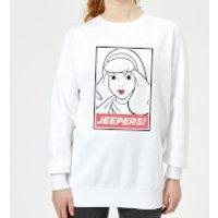 Scooby Doo Jeepers! Women's Sweatshirt - White - XL - White