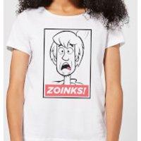 Scooby Doo Zoinks! Women's T-Shirt - White - 5XL - White