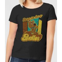 Scooby Doo Born To Be A Baller Women's T-Shirt - Black - M - Black
