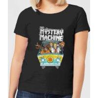 Scooby Doo Mystery Machine Heavy Metal Women's T-Shirt - Black - 5XL - Black - Heavy Metal Gifts