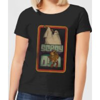 Scooby Doo Retro Ghostie Women's T-Shirt - Black - 5XL - Black
