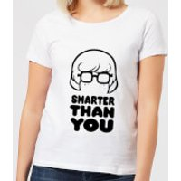 Scooby Doo Smarter Than You Women's T-Shirt - White - S - White