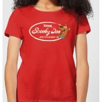 Scooby Doo Cola Women's T-Shirt - Red - XL - Red