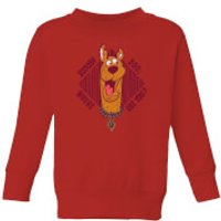 Scooby Doo Where Are You? Kids' Sweatshirt - Red - 5-6 Years - Red