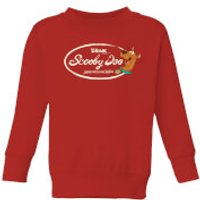 Scooby Doo Cola Kids' Sweatshirt - Red - 5-6 Years - Red
