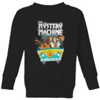 Scooby Doo Mystery Machine Heavy Metal Kids' Sweatshirt - Black - 11-12 Years - Black - Heavy Metal Gifts