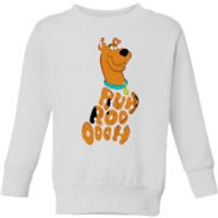 Scooby Doo RUHROOOOOH Kids' Sweatshirt - White - 7-8 Years - White