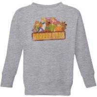 Scooby Doo Groovy Gang Kids' Sweatshirt - Grey - 7-8 Years - Grey