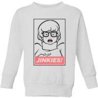 Scooby Doo Jinkies! Kids' Sweatshirt - White - 5-6 Years - White