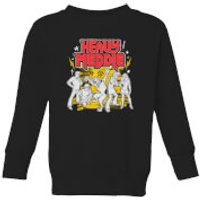 Scooby Doo Heavy Meddle Kids' Sweatshirt - Black - 3-4 Years - Black