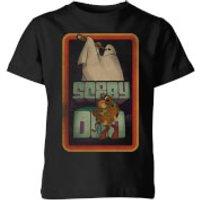 Scooby Doo Retro Ghostie Kids' T-Shirt - Black - 7-8 Years - Black
