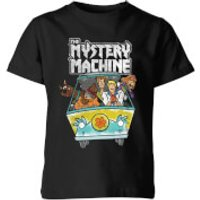 Scooby Doo Mystery Machine Heavy Metal Kids' T-Shirt - Black - 11-12 Years - Black - Heavy Metal Gifts