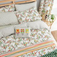 Helena Springfield April Duvet Cover Set - Green - Double
