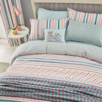 Helena Springfield Trixie Duvet Cover Set - Duck Egg - Double