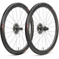 Scope R5 Disc Carbon Clincher Wheelset - Shimano - Black Decals