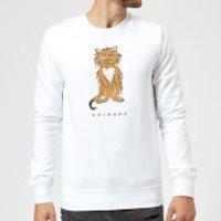 Friends Smelly Cat Sweatshirt - White - XL - White