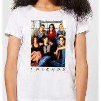 Friends Group Photo Women's T-Shirt - White - M - White