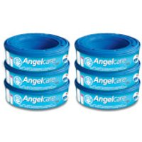 Angelcare Refill Cassettes (6 Pack)