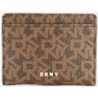 Dkny Bryant Card Holder - Mocha Logo
