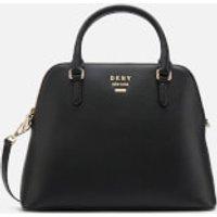 DKNY Women's Whitney Large Dome Satchel Bag - Black