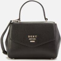 DKNY Women's Whitney Small Th Satchel Bag - Black