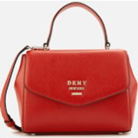 Dkny Whitney Small Th Satchel Bag - Red