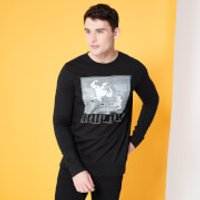 Cartoon Network Spin-Off Johnny Bravo Classic Scene Sweatshirt - Black - 5XL - Black - Cartoon Network Gifts