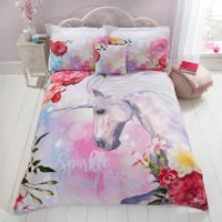 Rapport Sparkle and Shine Duvet Set - Multi - Single