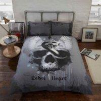 Rapport Rebel Heart Duvet Set - Multi - Double