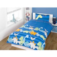 Rapport Dinosaur Duvet Set - Blue - Double