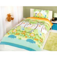 Rapport Jungle Boogie Duvet Set - Multi - Single