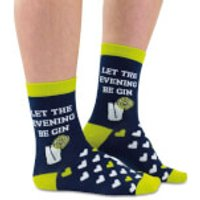 Cockney Spaniel Let the Fun Be 'Gin' Socks - Fun Gifts
