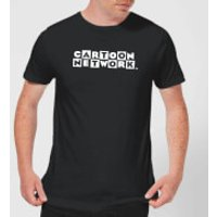 Cartoon Network Logo Mens T-Shirt - Black - S - Black