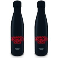 Stranger Things (Upside Down) Metal Drinks Bottle - Stranger Things Gifts