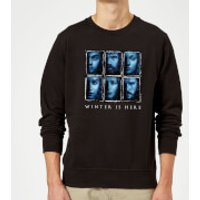 Game of Thrones Winter Is Here Faces Sweatshirt - Black - M - Black