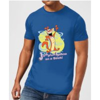 I Am Weasel Jumping Iguana On A Stick Men's T-Shirt - Royal Blue - M - Royal Blue