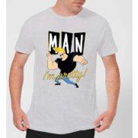 Johnny Bravo Man I'm Pretty Men's T-Shirt - Grey - M - Grey