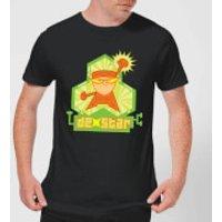 Dexters Lab DexStar Hero Men's T-Shirt - Black - L - Black