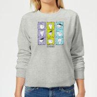 Ed, Edd n Eddy Heads Women's Sweatshirt - Grey - XXL - Grey
