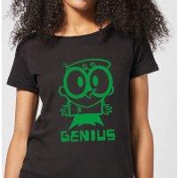 Dexters Lab Green Genius Women's T-Shirt - Black - 3XL - Black